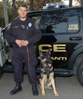 K-9 Officer and Buky