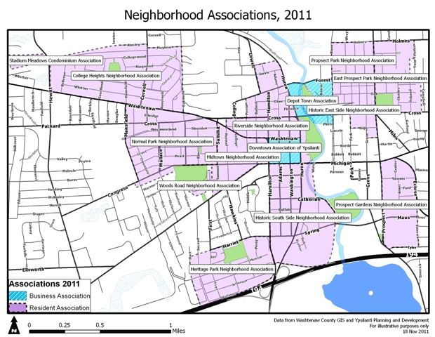 2011 Neighborhood Associations