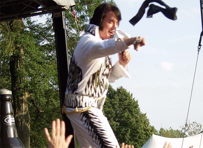 Elvisfest in Riverside Park